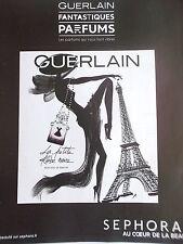 publicité de presse PARFUM LA PETITE ROBE NOIRE GUERLAIN   en 2014  ref. 21766