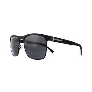 7cd3db4110 Hugo Boss Gafas de Sol 0984/S 003 Ir Negro Mate Gris Azul | eBay