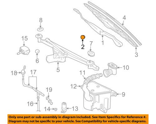 JAGUAR OEM 97-06 XK8 Wiper Washer-Windshield-Wiper Arm Cap GJA8966AB