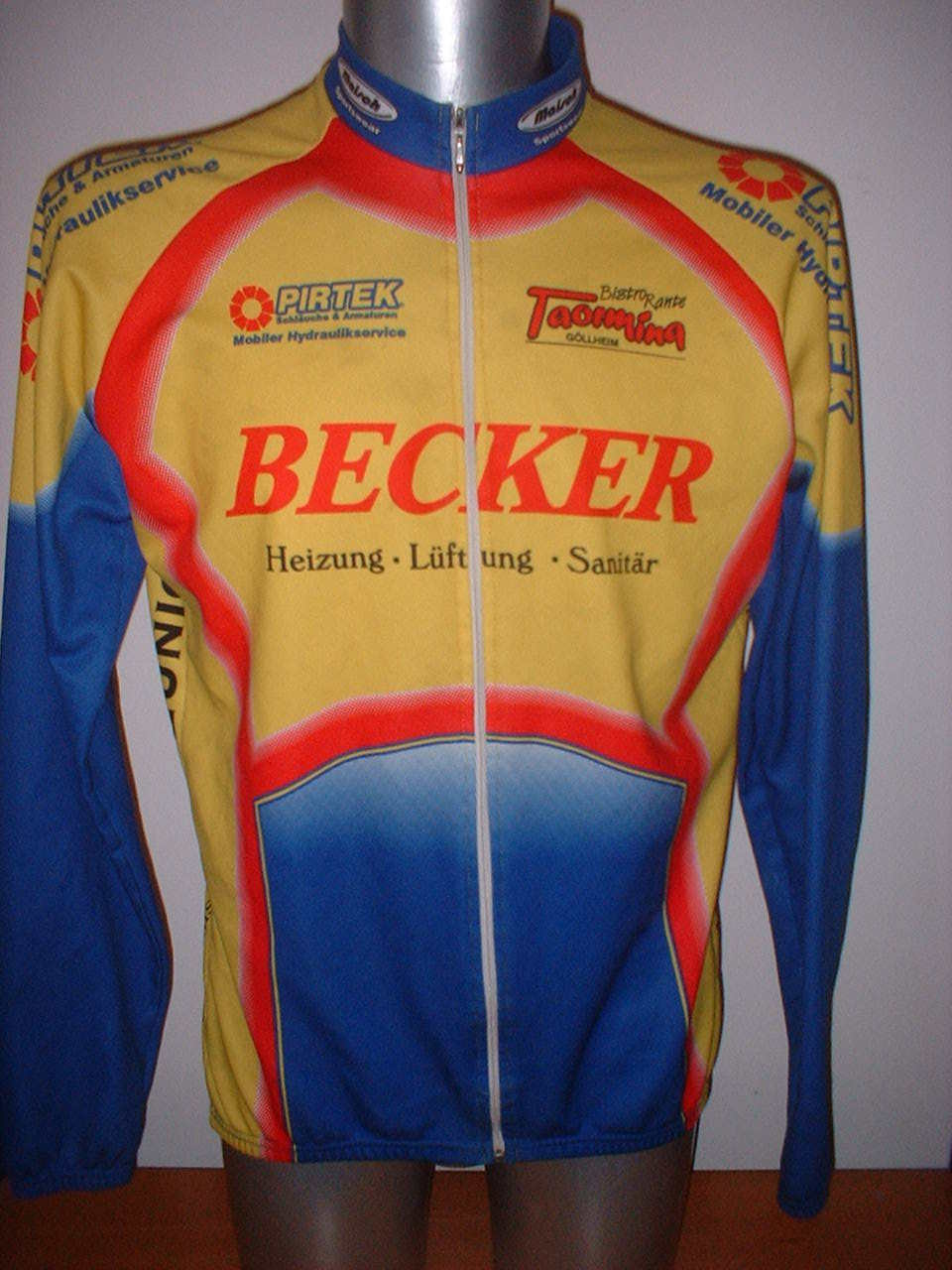 Pirtek  Maisch L S Shirt Jersey Top Adult XXL Cycling Cycle Bike Cyclisme Trikot  sale
