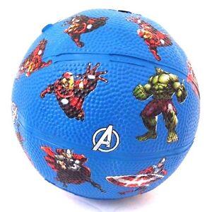 Marvel-Comics-Avengers-Assemble-Boy-039-s-Junior-Small-Rubber-Playground-Ball-NEW