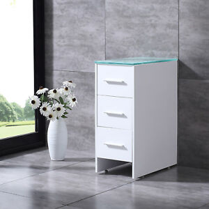 Image Is Loading 12 039 Bathroom Cabinet Solid Wood Floor