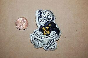 "NAVY MIDSHIPMEN NCAA PATCH NAVY  LOGO 5/"" X 2 3//4/"""