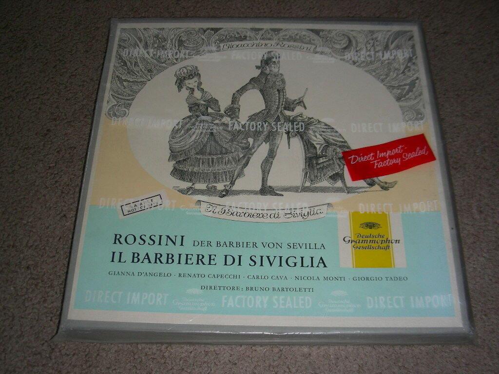 Sealed Rossini La Barbieri di Siviglia DGG 18665 Barber of Seville Bartoletti LP