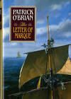 The Letter of Marque by Patrick O'Brian (Hardback, 1990)