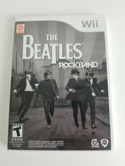 The Beatles Rock Band (Nintendo Wii) Complete w/ Manual | eBay