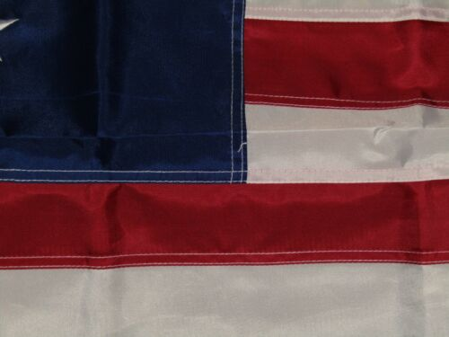 3x5 Embroidered 15 STAR SPANGLED BANNER WAR 1812 220D Nylon Flag w// Clips