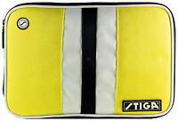 Table Tennis Case: Stiga Line Single Bat Wallet – Yellow
