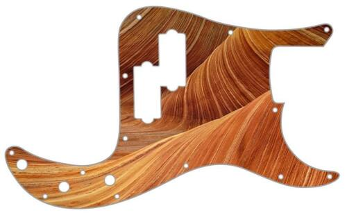 P Bass Precision Pickguard Custom Fender 13 Hole Guitar Pick Guard Sandstone 1