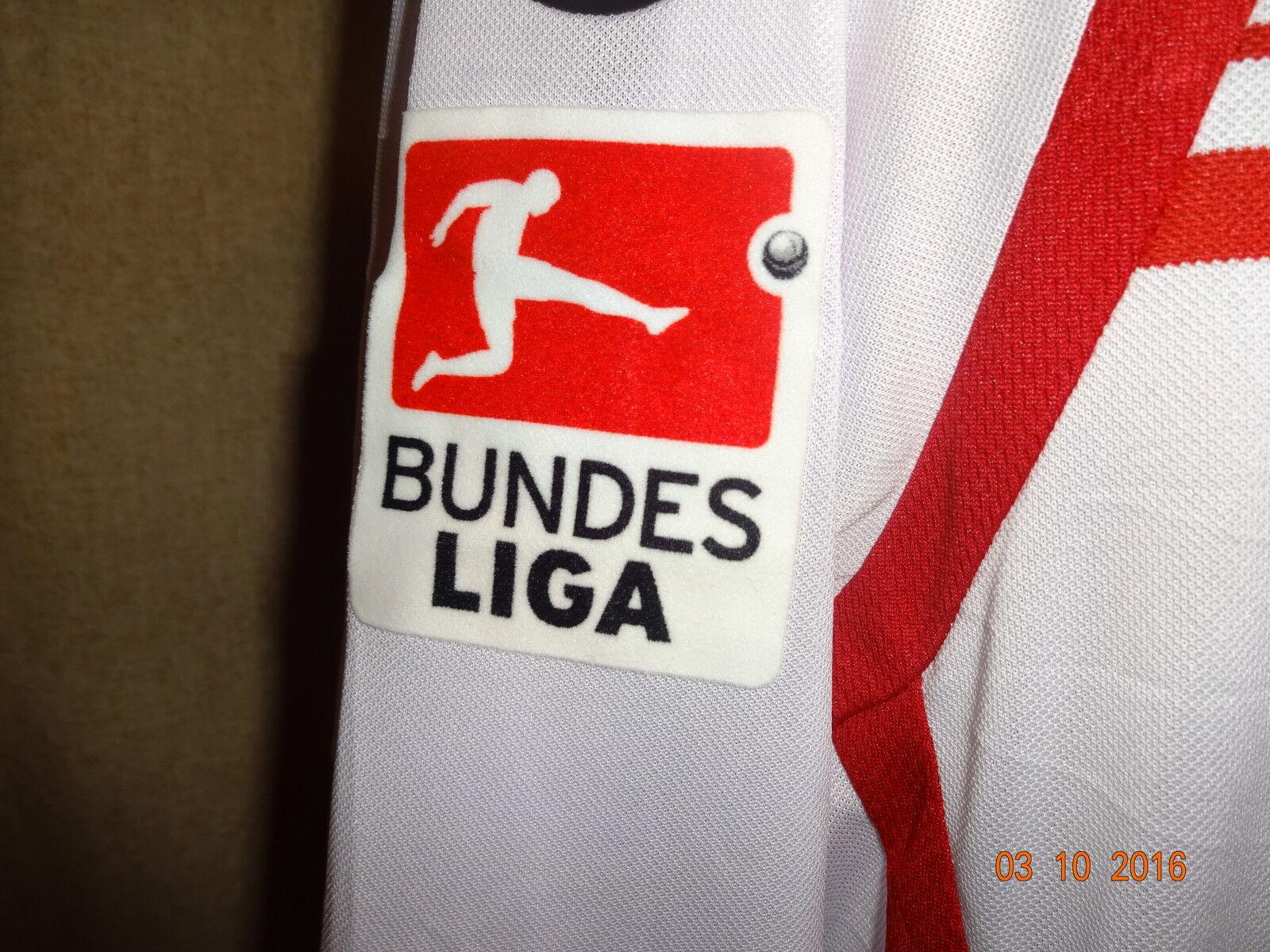 1.FC Kaiserslautern uhlsport Langarm Matchworn Trikot 12 12 12 13 + Nr.25 Köhler Gr.XL 293737