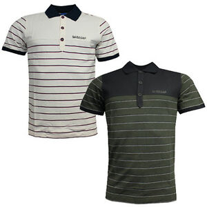 cb768c6868df7 Image is loading Adidas-Originals-Porsche-Speedster-Mens-Striped-Cotton-Polo -