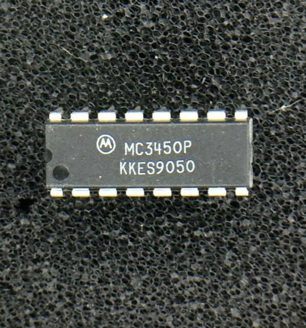 2x MC3450P by MOTOROLA Differential Bus-Line Receiver IC
