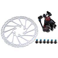 Mountain Bicycle Bike Mechanical Front/rear Disc Brake Caliper Kit 160mm Rotor