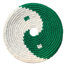 Pocket Disc by PHD Hempy Sport Disc - 7.25in Handmade Natural Hemp (Yin Yang)