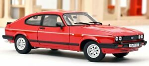 FORD Capri Mk III 2.8 Injection - 1983 - red - Norev 1:18
