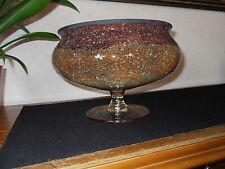 """Partylite """"Siena""""  Kerzenschale 3 Docht  Mosaik Glas Neuwertig  5 Teelichter"""
