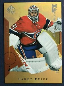 CAREY-PRICE-2018-19-SP-AUTHENTIC-SPECTRUM-FX-GOLD-26-50-NO-S-25-42427