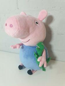 Peppa-Pig-George-Teddy-TY-Beanie-BUM-Peluche