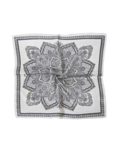 donne moda giallo Farfalla Stampa 100/% seta sciarpa quadrato Multicolori