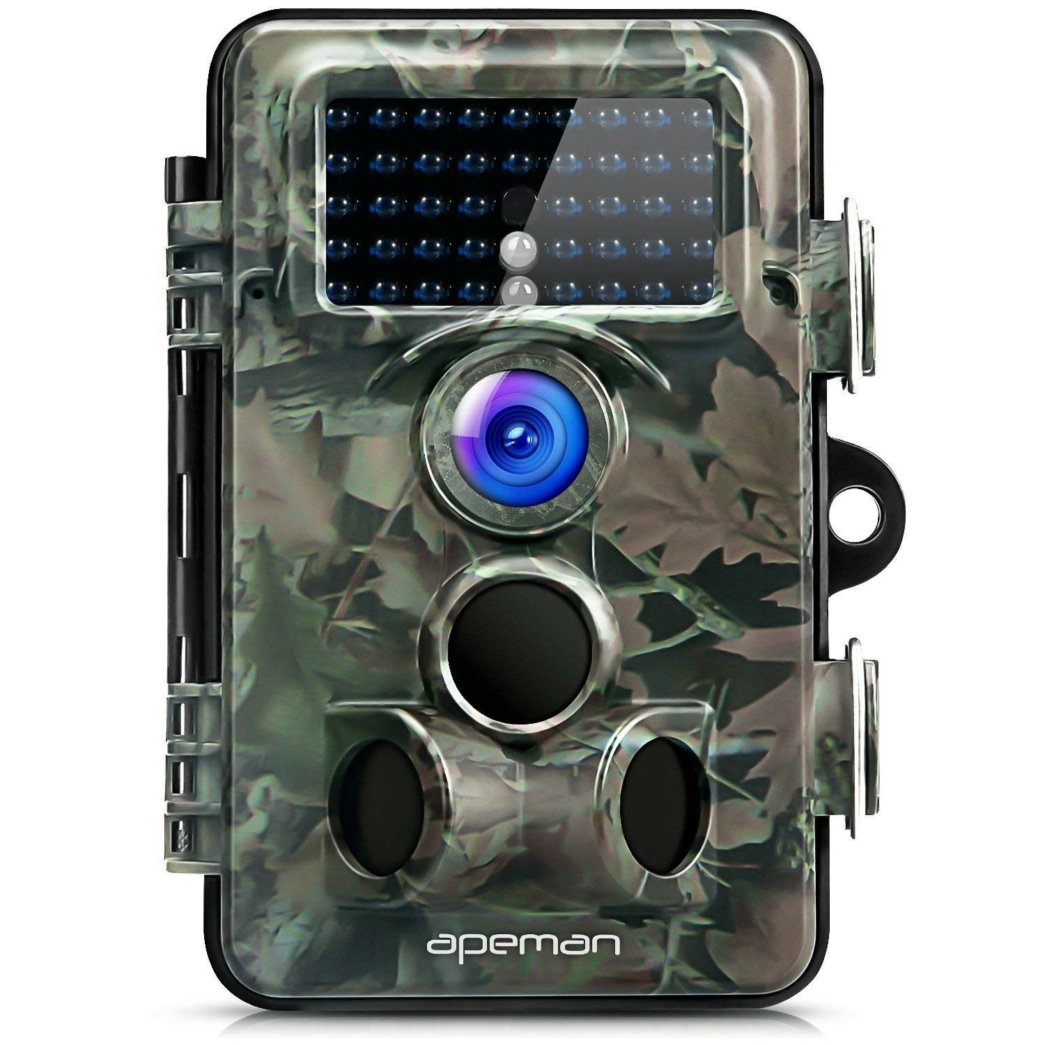 APEMAN Trail Camera 12MP 1080P HD Game&Hunting with 130  Wide Angle Lens...