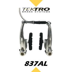 Tektro New 837AL Linear Pull V-Brake Bike MTB Hybrid//Silver