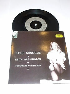 KYLIE-MINOGUE-If-You-Were-With-Me-Now-1991-UK-2-track-7-Vinyl-single