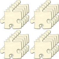 Blanko Puzzle Unendlich, Größe M, Set 20 Teile, Puzzleteile Aus Holz, Bemalen