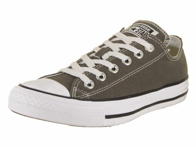 f216d550b00851 Mens Converse Shoes Chuck Taylor Ox Charcoal 1j794 Men 7   Women 9 for sale  online