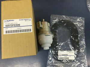 Subaru-In-Tank-Fuel-Filter-amp-Gasket-Kit-for-Turbo-42072FE020-amp-42060AA040-OEM