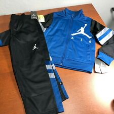b4e966d2d2f item 2 Jordan Nike Air Boys Jacket Tracksuit Pants Outfit Track Set Size 4  Blue Black -Jordan Nike Air Boys Jacket Tracksuit Pants Outfit Track Set  Size 4 ...