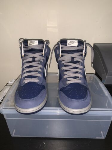 Nike Dunk High Midnight Navy Size 11