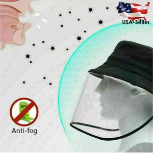 Fisherman-Hat-With-Shield-For-Face-New-Fast-Shipping-US-Seller-Face-Cover