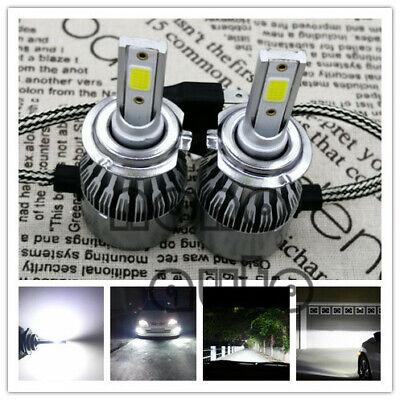 2X H7 LED Headlights Bulbs Kit High//Low Beam 55W 8000LM Super Bright 6000K White