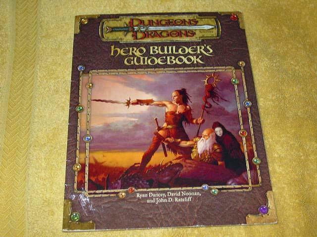 TSR D&D - Dungeons & Dragons-Hero constructor guía  11647