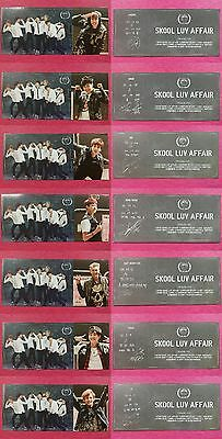 BTS 7 PCS #1 Full Set Official Photo Card 2nd Mini Album Skool Luv Affair