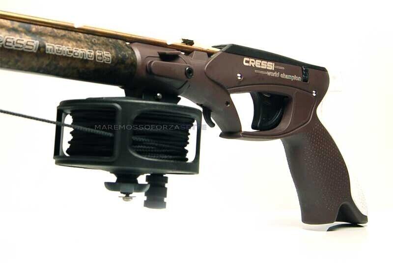 Cressi sub mohawk 75 crossbow with reel fishing apnea sub elastic