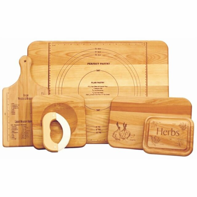 Catskill Craftsmen Inc 5 Piece Solid Wood Cutting Board Set For Sale Online Ebay
