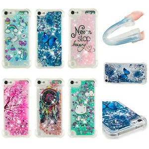 Cute-High-impact-Armor-Glitter-Liquid-Case-Cover-For-ipod-touch-5-Gen-6-Gen