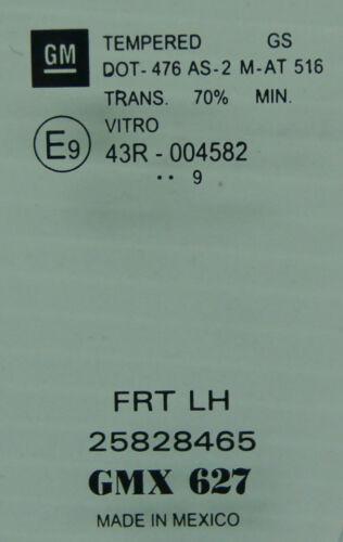 2009 Pontiac Solstice Coupe Left LH Door Glass New OEM 25828465