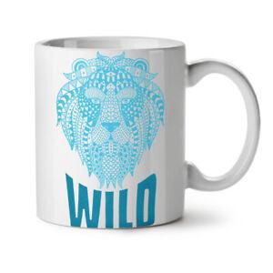Lion Beast Wild Animal NEW White Tea Coffee Mug 11 oz | Wellcoda