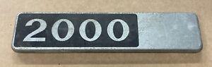 Alfa Romeo  2000 Badge
