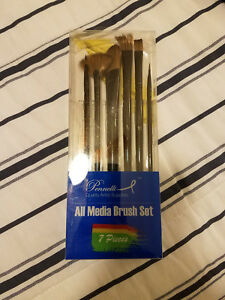 PENNELLI-7-Pieces-All-Media-Brush-Set