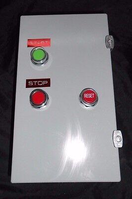 EXCO NEMA SZ 3 50HP 480V ABB STARTER COMBO W//  BREAKER OUTDOOR RATED TYPE 4