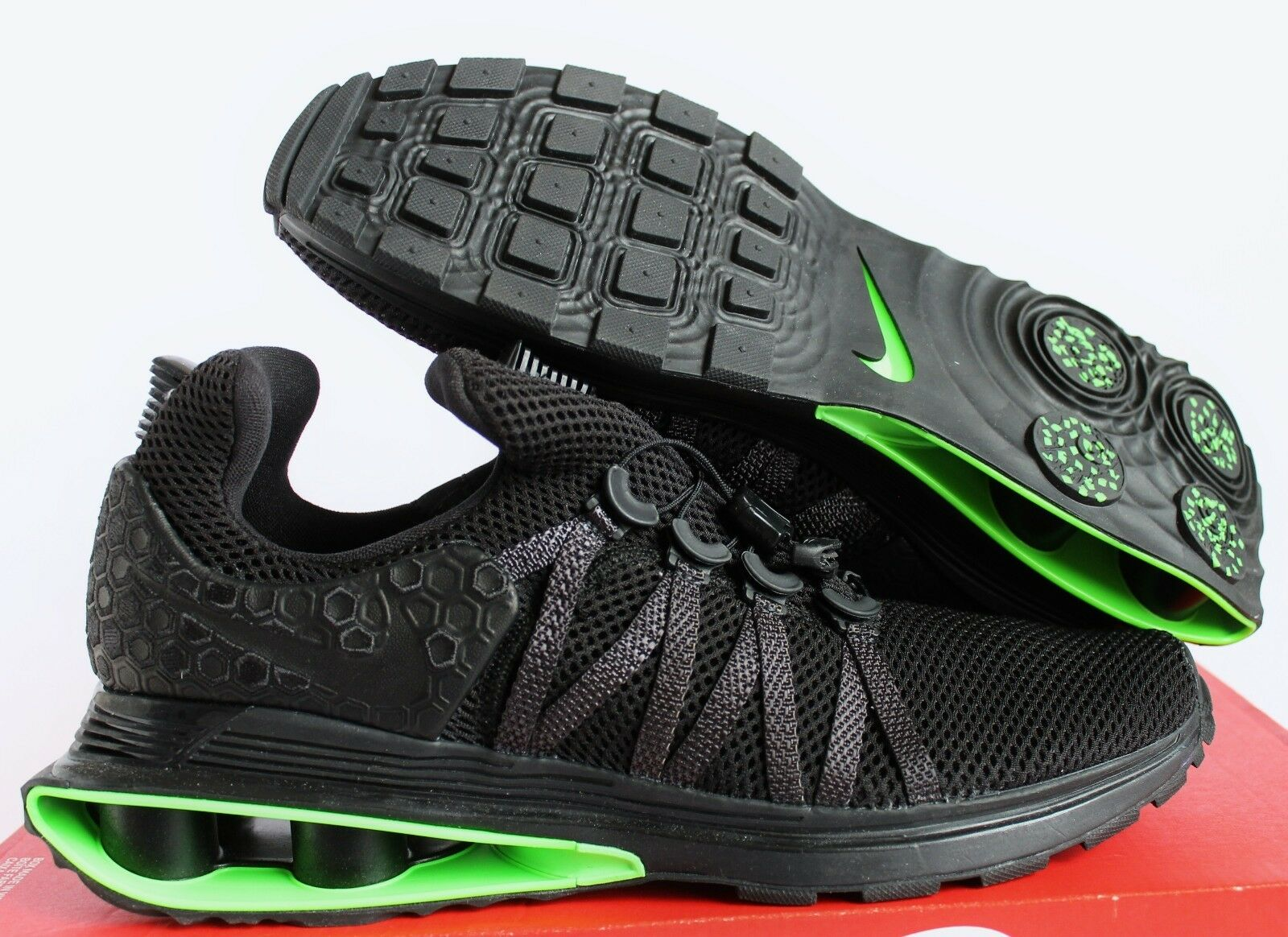 Nike shox shox Nike nz schwarz-schwarz-green schwerkraft luxe streik sz. 8324c6