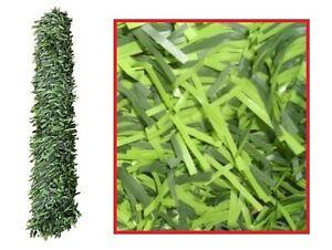 Siepe sintetica artificiale ad aghi sempreverde 3 x 1 5 mt for Siepe sintetica artificiale