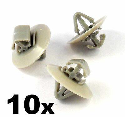 10x CHEVROLET Tür Seite Umrandungen Klemme Zierleiste Radlauf Reibung Leiste