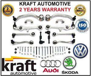 N-de-Suspension-Brazos-Control-espoletas-Set-Kit-Audi-A4-A6-VW-Passat-B5-C5-8D-Excelente