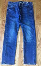 Levi/'s 232 Mens Denizen Slim Straight Fit Jeans Measure 36X33 Raw Sample Unworn
