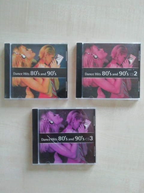 Dance Hits 80's and 90's: 3 Cd'er til 10 kr., pop, Jeg har…