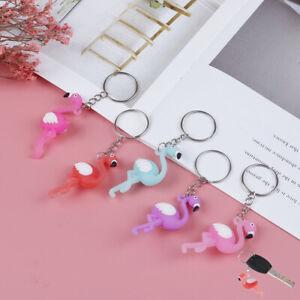 Hot-Flamingo-Keychain-Cute-Animal-Car-silicon-Key-Chain-Ring-for-women-giftJCHV